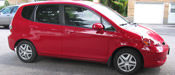 2007 Honda Fit -  50% NR front windows - 28% quantum rear with an additional 5% in the cargo area